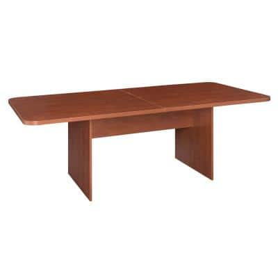 Mod Cherry No Tools Assembly 7 ft. Conference Table