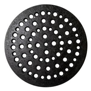 10 in. Cast Iron Grate