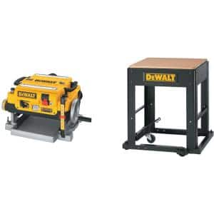 15 Amp 13 in. Corded Planer with Bonus Stand