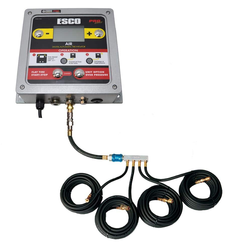Wall Mounted Car Tyre Inflator With LCD Display 5-102PSI