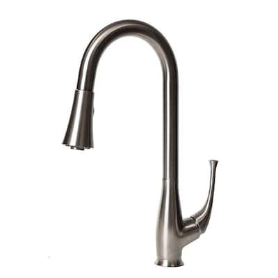 ZLINE Castor Kitchen Faucet in Brushed Nickel (CAS-KF-BN)