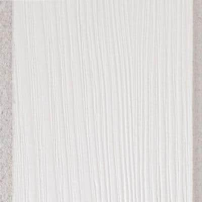 Country Classic Surface-Mount Tongue and Groove Acoustic White Ceiling Plank Sample 6 in. x 6 in.