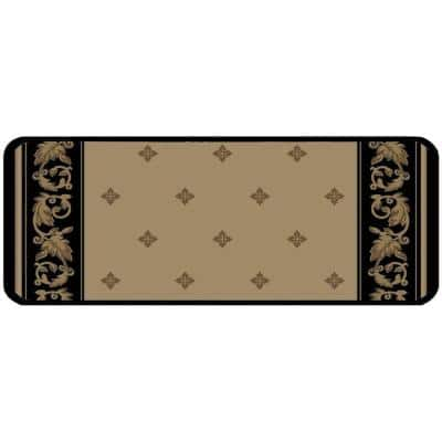 Windham Ebony 9 in. x 26 in. Stair Tread Cover (Set of 12)