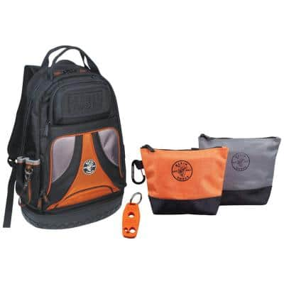 20 in. Backpack with Stand-Up Zipper Bags and Magnetizer