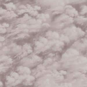 Clouds Fog Grey Peel and Stick Wallpaper (Covers 28 sq. ft.)