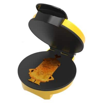 Minions Kevin Classic Waffle Maker Yellow