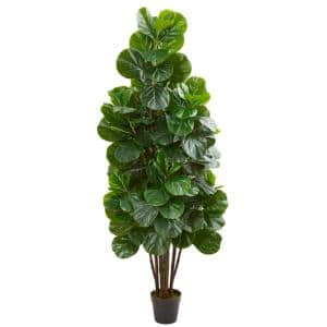 6 ft. Indoor Fiddle Leaf Fig Artificial Tree