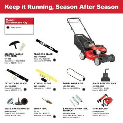21 in. 140cc 550e Series Briggs & Stratton Engine 2-in-1 Gas FWD Self Propelled Lawn Mower