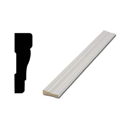 WM 356 11/16 in. x 2-1/4 in. Primed Finger-Jointed Casing Door (5-Pack)