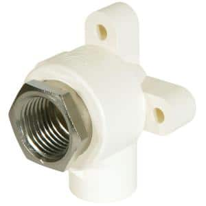 1/2 in. CPVC-CTS and Lead-Free Copper Silicon Alloy Pressure 90-Degree S x FIPT Drop Elbow Fitting
