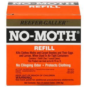 14 oz. No Moth Closet Hanger Refills (6-Pack)