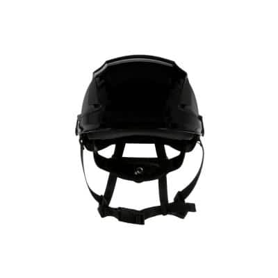 SecureFit Black Suspension Safety Helmet with Uvicator (Case of 10)