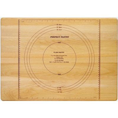 Perfect Pastry Wooden Reversible Cutting Board