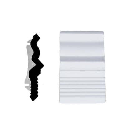 1/4 in. x 3-1/2 in. x 2-3/4 in. Primed Polyurethane Colonial Dentil Crown Connector Moulding