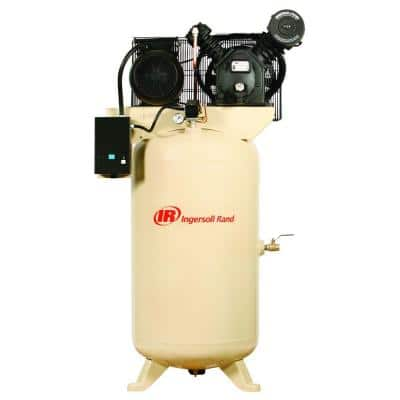Type 30 Reciprocating 80-Gal. 5 HP Electric 230-Volt Single Phase Air Compressor