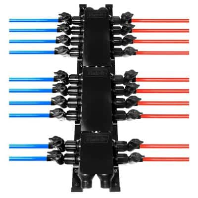 20-Port PEX Manifold with 1/2 in. Valves and Clamps