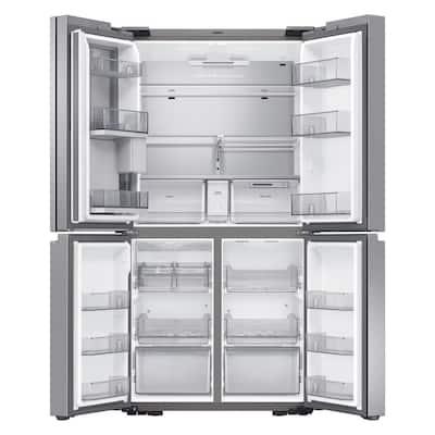 29 cu. ft. 4-Door Flex French Door Refrigerator in Fingerprint Resistant Stainless Steel with FlexZone