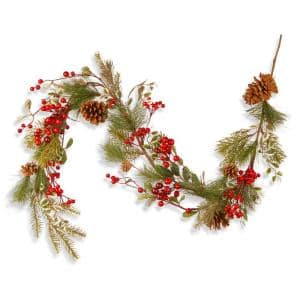 Red Berry 60 in. Garland