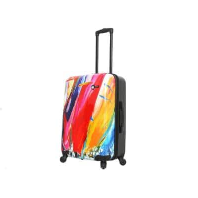 Duaiv 24 in. Sails Spinner Suitcase