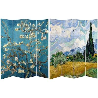 6 ft. Printed 4-Panel Room Divider