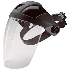 E12 Black Deluxe Headgear System. Meets ANSI Z87.1