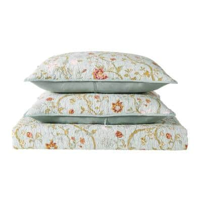 Bedford 2-Piece Multicolored Colored Twin XL Quilt Set