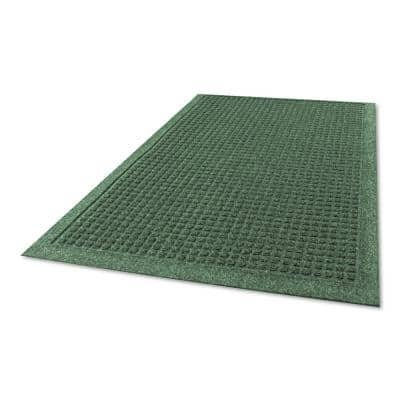 EcoGuard Charcoal 36 in. x 60 in. Rubber Indoor/Outdoor Commercial Wiper Mat