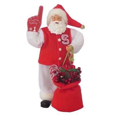 12 in. N C State #1 Santa