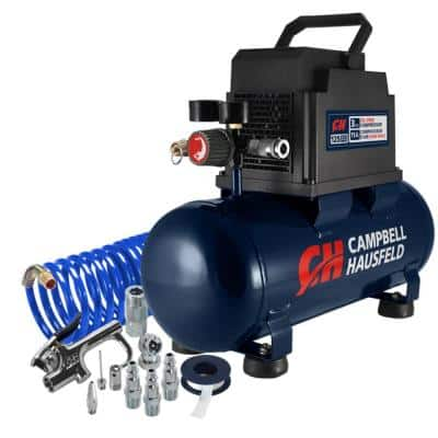 3 Gal. Portable Electric Air Compressor with Inflation Kit