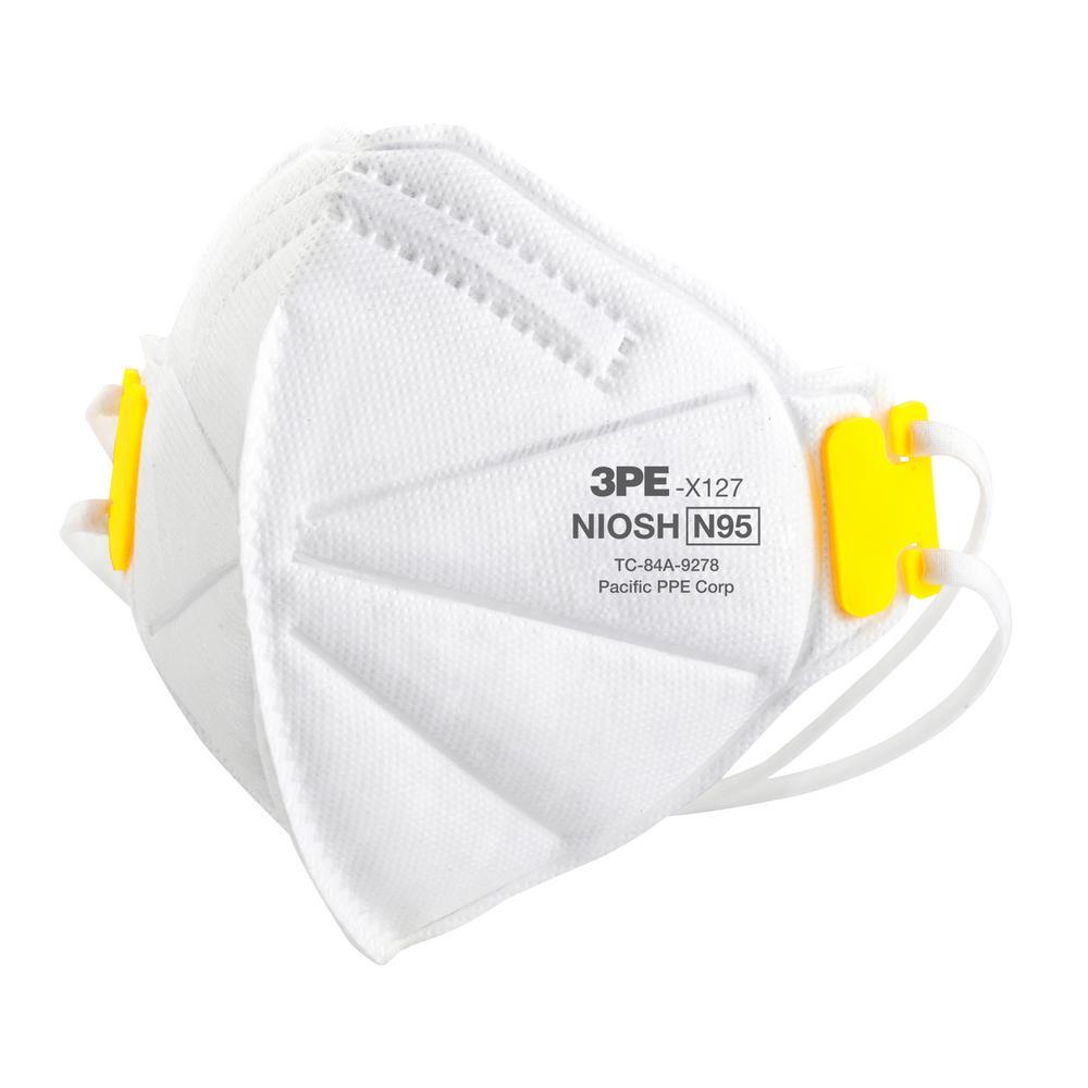 N95 Disposable Multi-Purpose Respiratory Mask (25-Pack)