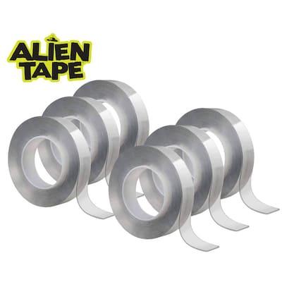 Alien Tape 7 ft. Multi-Functional Reusable Double-Sided Tape (6-Pack)