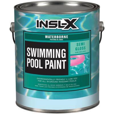 1 Gal. Semi-Gloss Water White Swimming Pool Paint