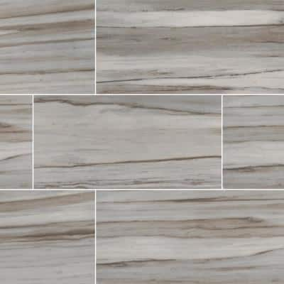 Lindell Fuoco 12 in. X 24 in. Matte Porcelain Floor and Wall Tile (20 sq. ft. / case)