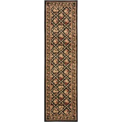 Safavieh Lyndhurst Black 2 Ft X 16 Ft Runner Rug Lnh556 9090 216 The Home Depot