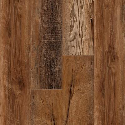 Vinyl Pro Classic Mesquite 7.12 in. W x 48 in. L Waterproof Luxury Vinyl Plank Flooring (23.77 sq. ft)