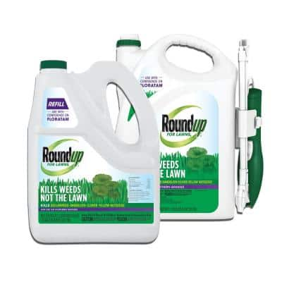 Roundup for Lawns Southern 1.33 Gal. Ready-to-Use Continuous Spray Wand and Refill Bundle