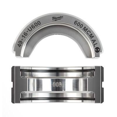 600 MCM Aluminum 6T U Style Die