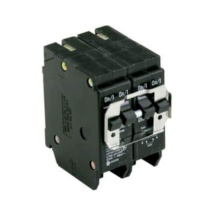 BR 2-30 Amp 2 Pole BQ (Independent Trip) Quad Circuit Breaker