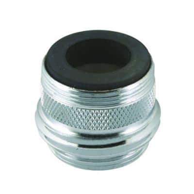 Dual-Thread for 3/4 in. Hose or Male 55/64 in. Adapter