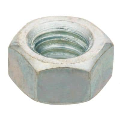 3/8 in.-16 Zinc Plated Hex Nut (100-Pack)
