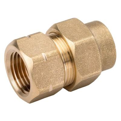 1/2 in. CSST x 1/2 in. FIPT Brass Female Adapter