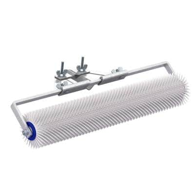 20 in. x 7 in. Spiked Roller with 13/16 in. Plastic Spikes and Bracket