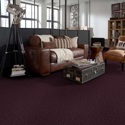Palmdale I - Color Grape Koolaid Texture Purple Carpet