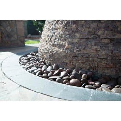 Red Polished 0.5 cu. ft . 0.75 to 1.25 in. Pebbles. 40 lbs. Bag (55 bags / pallet)