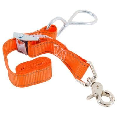 1 in. x 3 ft. x 100 lbs. Trunk Tie Down