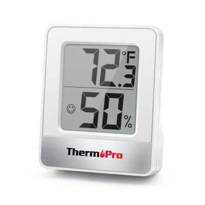 TP49W Indoor thermometer Humidity Temperature Gauge Monitor Meter Hygrometer