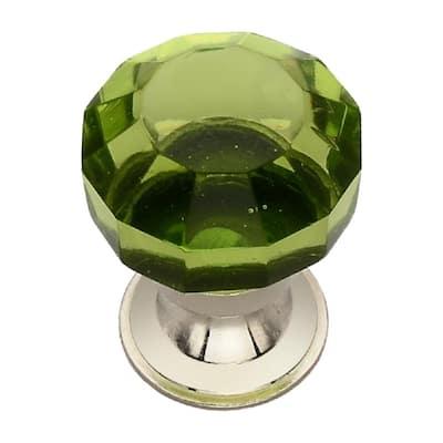 1-1/4 in. Menta Crystal Cabinet Knob