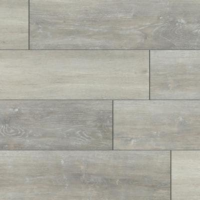 Baneberry Oak 7 in. x 42 in. Rigid Core Luxury Vinyl Plank Flooring (20.8 sq. ft. / case)