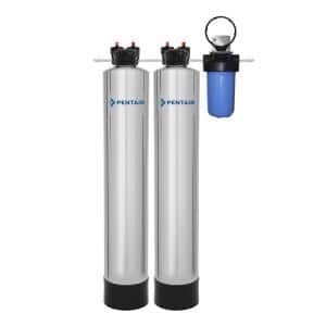 15 GPM Whole House Water Filtration and NaturSoft Water Softener Alternative System