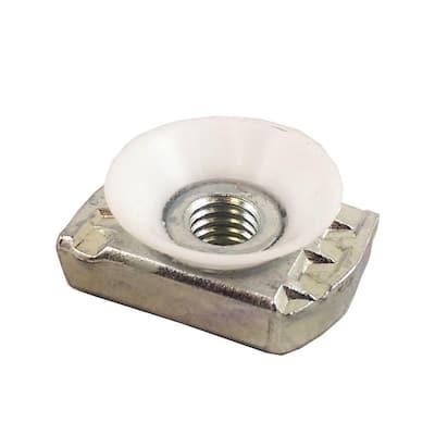 3/8 in. Galvanized Cone Nut (5-Pack)